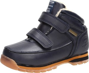 Granatowe buty dziecięce zimowe Suzana