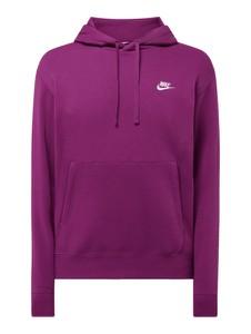 Fioletowa bluza Nike z bawełny