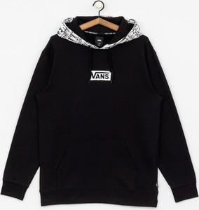 Czarna bluza Vans z bawełny