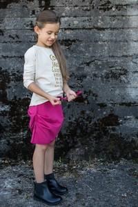 Różowa spódniczka dziewczęca M-art-a-baby
