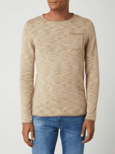 Sweter Review w stylu casual z okrągłym dekoltem