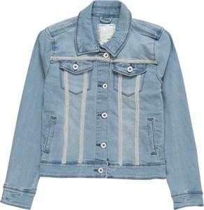 Niebieska kurtka dziecięca Vingino z jeansu