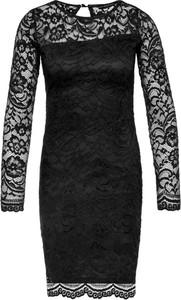 Czarna sukienka Guess mini dopasowana