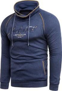 Niebieska bluza Risardi w stylu casual