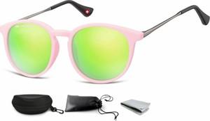 Stylion Okulary dziecięce lenonki Unisex lustrzanki matowe CS71E