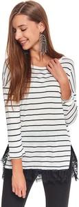 Bluzka Top Secret w młodzieżowym stylu z tkaniny