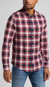Koszula Lee w stylu casual z kołnierzykiem button down z bawełny