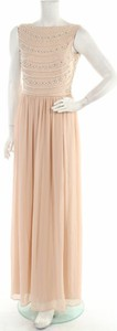 Sukienka Young Couture z okrągłym dekoltem maxi bez rękawów