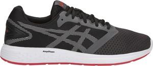 Czarne buty sportowe opensport.pl sznurowane w sportowym stylu