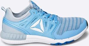 Błękitne buty sportowe Reebok