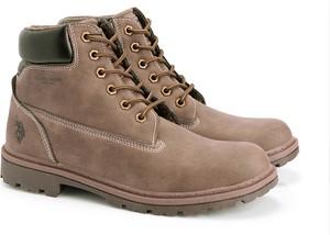 Brązowe buty zimowe inni producenci