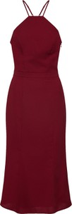 Czerwona sukienka Chi Chi London midi