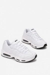 Buty sportowe Esclusivo.pl z płaską podeszwą ze skóry ekologicznej sznurowane