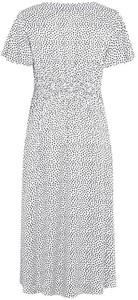 Sukienka Cellbes z krótkim rękawem z dekoltem w kształcie litery v z satyny