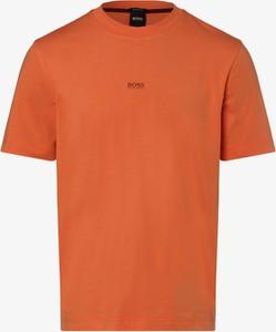 T-shirt Hugo Boss z krótkim rękawem z dżerseju