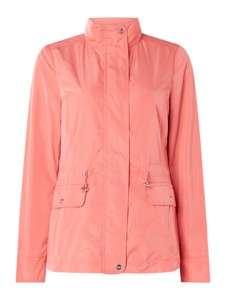 Różowa kurtka Christian Berg Woman Selection w stylu casual krótka