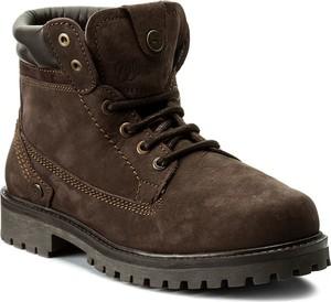Szare buty zimowe wrangler