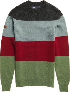 Sweter Superdry z okrągłym dekoltem