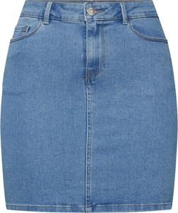 Niebieska spódnica Vero Moda mini