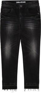 Czarne spodnie dziecięce Zadig & Voltaire