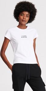 T-shirt Reserved z krótkim rękawem