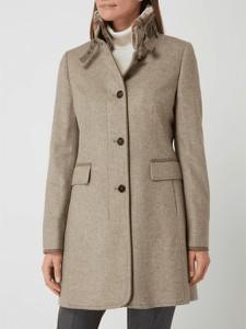 Płaszcz Gil Bret w stylu casual z wełny