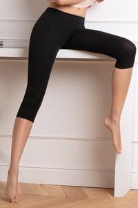 Czarne spodnie COTONELLA