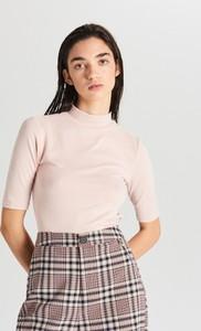 Różowa bluzka Cropp
