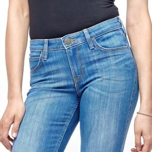 Jeansy Lee z jeansu w stylu casual