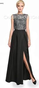 Sukienka Camill Fashion bez rękawów maxi