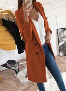 Brązowy płaszcz Sandbella w stylu casual