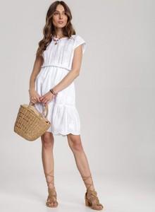 Sukienka Renee z okrągłym dekoltem z krótkim rękawem
