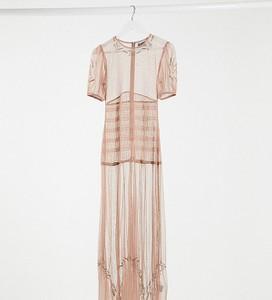 Sukienka Reclaimed Vintage z krótkim rękawem