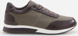 Brązowe buty sportowe Reserved