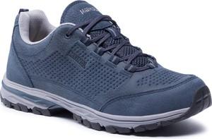 Niebieskie buty trekkingowe Meindl