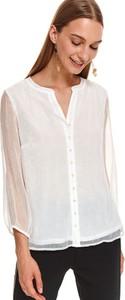 Bluzka Top Secret z dekoltem w kształcie litery v