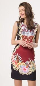 Sukienka born2be w stylu casual bez rękawów mini