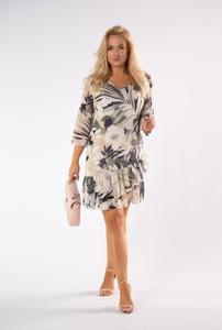Sukienka Ptak Moda z długim rękawem
