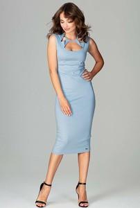 Błękitna sukienka Katrus
