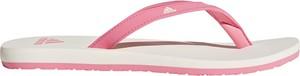 Różowe klapki Adidas