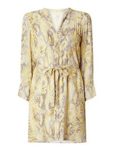 Żółta sukienka Rich & Royal z tkaniny