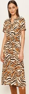 Sukienka Vero Moda z tkaniny z kołnierzykiem