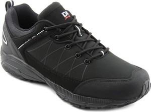 Czarne buty trekkingowe DK sznurowane