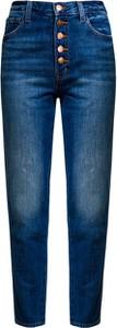 Niebieskie jeansy J Brand z bawełny w street stylu