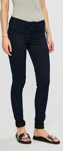 Czarne spodnie Pepe Jeans