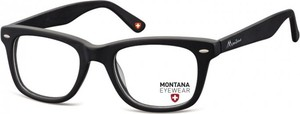 Stylion Okulary oprawki optyczne, korekcyjne Montana MA83 nerdy wayfarer czarne