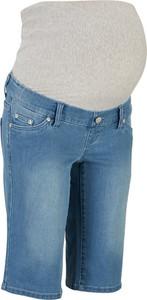 Bermudy dżinsowe ciążowe | bonprix