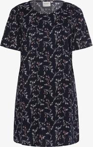 Niebieska sukienka Junarose mini z krótkim rękawem w stylu casual
