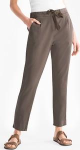 Brązowe spodnie YESSICA