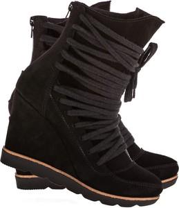 Sneakersy Lafemmeshoes na koturnie